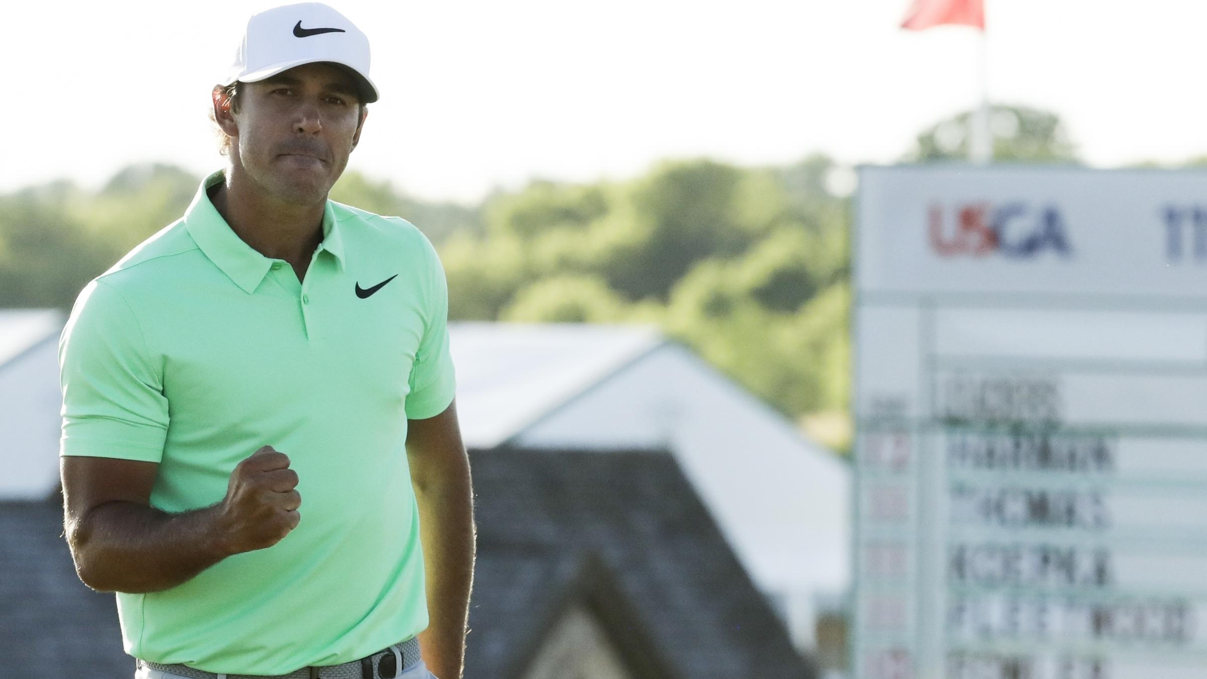 Brooks Koepka wins maiden major at US Open